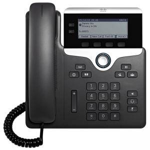 IP телефон Cisco IP Phone 7821 with Multiplatform Phone firmware, CP-7821-3PCC-K9=