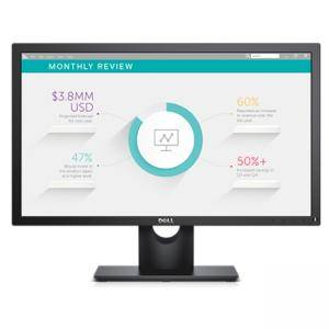 Монитор, Dell E2318H, 23 Wide LED Anti-Glare, IPS Panel, 5ms, 1000:1, 250 cd/m2, 1920x1080 Full HD, VGA, Display Port, Tilt, Черен, E2318H