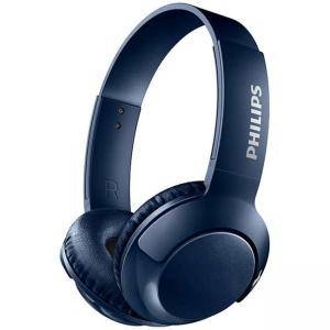 Безжични Bluetooth слушалки Philips SHB3075BL, Сини, SHB3075BL