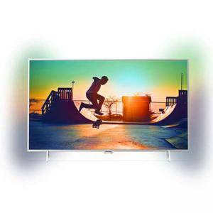 Телевизор Philips 32 инча FHD HD, DVB-T2/C/S2, Android TV, Ambilight 2, HDR+, Pixel Plus UHD, Quad core, 500 PPI, 8 GB Internal memory, RC Keyboard,16W, Сребрист, 32PFS6402/12