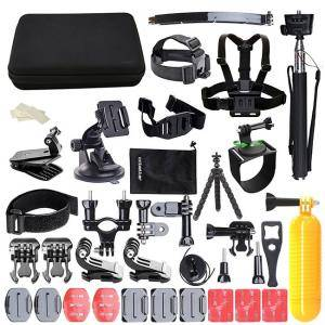 Аксесоари за GoPro камера 50 В 1 за GOPRO, ACTION CAMERA ACCESSORIES KIT FOR GO PRO HERO 6 5 4 3 2 1, for most of sports camera With Case Black