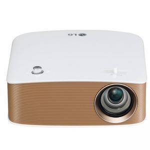 Мултимедиен проектор LG PH150G Portable MiniBeam Projector, Built-in type to 2.5 hour battery life,RGB LED, LCoS , HD (1280x720), 100 000:1, 130 ANSI Lumens, HDMI (MHL), PH150G
