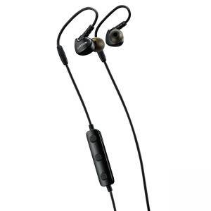 Слушалки Canyon Bluetooth sport earphones with microphone, 0.3m cable, black, CNS-SBTHS1B