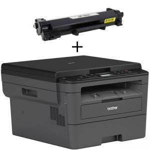 Лазерно многофункционално устройство DCPL2512D, 30 ppm, 64 MB, Duplex 250 paper tray, Up to 700 page inbox toner, GDI, 1200x1200 dpi, DCPL2512DYJ1
