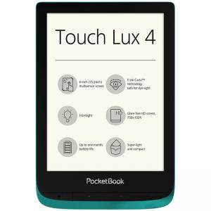 eBook четец PocketBook PB627 Touch Lux 4, 6 инча (758 x 1024) E Ink Carta, 212DPI, 8GB, Emerald, PBTLUX4EMR