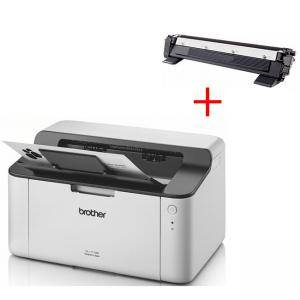 Лазерен принтер - Brother HL-1110E Laser Printer - HL1110EYJ1+КАСЕТА ЗА BROTHER MFC-1810E/HL 1110/1112/DCP 1510/1512 - TN1030/TN1000/TN1040/1070/1075