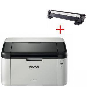Лазерен принтер Brother HL-1210WE Laser Printer - HL1210WEYJ1+КАСЕТА ЗА BROTHER MFC-1810E/HL 1110/1112/DCP 1510/1512 - TN1030/TN1000/TN1040/1070/1075