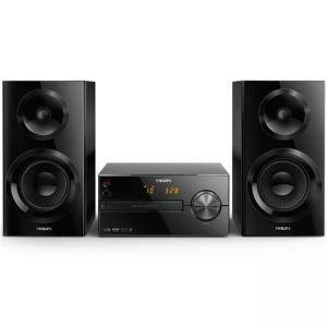 Микро музикална система Philips, Bluetooth, CD, CD-R/RW, MP3-CD, USB, FM, 70 W, BTM2560