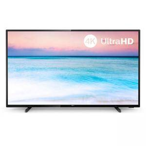 Телевизор Philips 4K Ultra HD, 58 инча (3840 x 2160), DVB-T/T2/T2-HD/C/S/S2, SAPHI, 1000 PPI, HDR 10+, Dolby Atmos, 58PUS6504/12