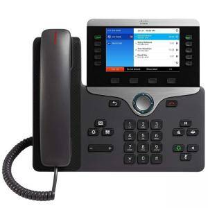 IP телефон Cisco IP Phone 8841, 2x10/100/1000Base-T, Charcoal, CP-8841-K9=