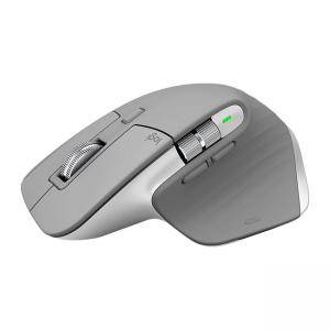 Безжична мишка Logitech MX Master 3 Advanced Wireless Mouse, Mid Grey, 910-005695