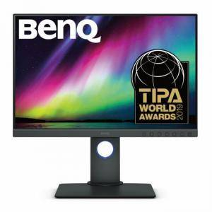 Монитор BenQ SW240, IPS, 24.1 инча, Wide, WUXGA, DVI-DL, HDMI, DP, USB Hub, Card Reader, черен, BENQ-MON-SW240
