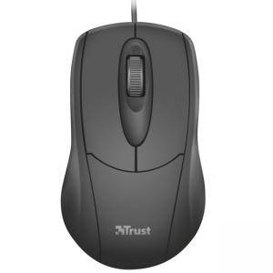 Мишка TRUST Ziva Optical Mouse, 1200 dpi, USB, Черна, 21947