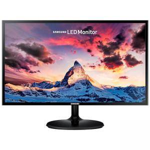 Монитор Samsung S24F354F 23.5 инча LED, Full HD (1920x1080) PLS, D-SUB, HDMI, Glossy, Черен, LS24F354FHUXEN