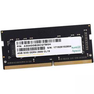 RAM Памет Apacer 4GB Notebook Memory DDR4 SODIMM 2666MHz, ES.04G2V.KNH