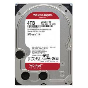Твърд диск WD RED (WD40EFAX), 4 TB, 5400RPM, 256MB, SATA 3, 3.5 инча, HDD-SATA3-4000WD-RED1