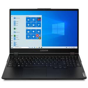 Лаптоп Lenovo Legion 5, 17.3 инча, IPS FHD AG, i5-10300H up to 4.5GHz QuadCore, GTX 1650 4GB, 8GB DDR4, 512GB PCIe, Черен, 82B30039BM