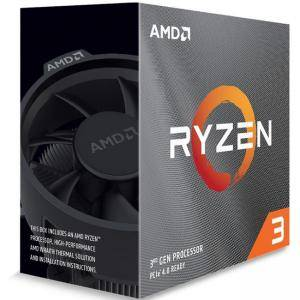 Процесор AMD Ryzen 3 3100, 3.9GHz, 18MB, 65W, AM4, box, with Wraith Stealth cooler, 100-100000284BOX