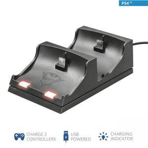 Докинг станция TRUST GXT 235 Duo Charge Dock PS4, 21681