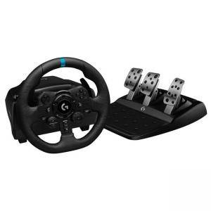 Волан Logitech G923 Racing Wheel and Pedals for PS4 and PC, Black, 941-000149