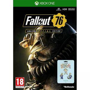 Fallout 76 Special Edition Xbox One Game + 3 Pin Badges For XB1 - NEW & SEALED