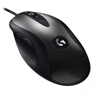 Мишка Logitech G MX518 Gaming Mouse - EER2, HERO 16K Sensor, черна, 910-005544