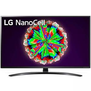 Телевизор LG 43NANO793NE, 43 инча, 4K IPS HDR Smart Nano Cell TV, 3840x2160, 200Hz, webOS, AI functions, WiFi 802.11.ac, Voice Controll, Bluetooth 5.0, Черен, 43NANO793NE