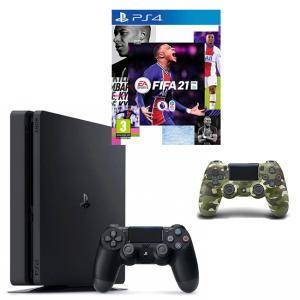 PlayStation 4 Slim 500GB Black, Sony PS4 - Виж в Mallbg