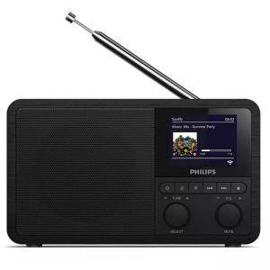 Интернет радио Philips TAPR802/12 Digital Internet Radio / FM / DAB +, черен