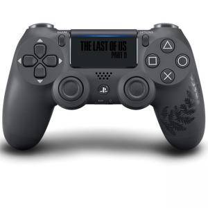 Безжичен геймпад SONY PlayStation DUALSHOCK 4, The Last of US II, черен, 32828