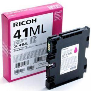 Касета с мастило гел RICOH Magenta Gel Yield GC 41ML