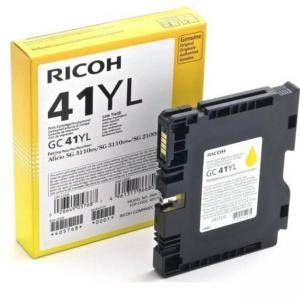Касета с мастило гел RICOH Yellow Gel Yield GC 41YL